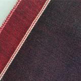 основным ткань покрашенная Selvedge джинсовой ткани 11.9oz 98471061
