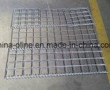 鋼鉄によって電流を通されるGabionの壁のバスケット
