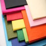 Acción grande coloreada alta calidad del papel de tejido disponible