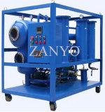 Purificador de petróleo doble del transformador del vacío de las etapas con 2 cilindros de los separadores del vacío