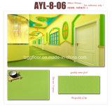 Vinyle bon marché de PVC des prix de modèle de mode parquetant l'étage d'intérieur