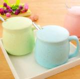 Taza de cerámica de la leche de la taza de la taza de café de la porcelana del diseño de la manera