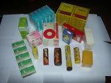 Tee-/Kosmetik-/Biskuit-/Medizin-Kasten-/Süßigkeit-Kasten-Zellophan-Verpackung-Maschine