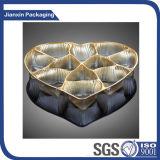 Пластичный упаковывать подноса еды золота
