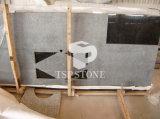 Zwart Graniet Kitchentop voor PrefabLijst