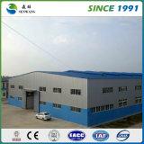 Construction préfabriquée de structure métallique du hangar de cours le meilleur marché