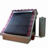Pipa de calor del colector solar en la azotea calentador de agua solar
