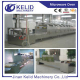 Secador industrial da micrôonda da transformação de produtos alimentares da alta qualidade