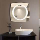 Leiden van de Spiegel van het Bassin van de Spiegel van het Kabinet van de Zaal van de douche bestrooien Sanitaire de Zuur Berijpte Spiegel van het Patroon