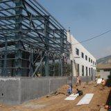 Gruppo di lavoro prefabbricato della struttura d'acciaio dell'ampia luce nel Namibia