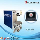 Mini machine d'inscription de laser de fibre de Glorystar avec le prix bas (FOL-10A)