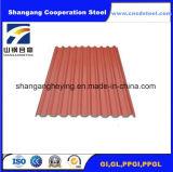 Chapa de aço galvanizada para a folha da telhadura de Roofing/PPGI Roofing/Gl