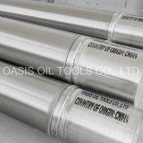 Fornitore dei filtri per pozzi del fondo del tubo dell'acciaio inossidabile