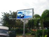 Afficheur LED antirouille d'utilisation extérieure d'île pour la publicité