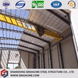 Atelier en acier de construction de bâti portique pour la production et le traitement