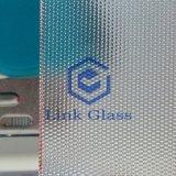 vidrio Tempered 4.0m m prismático de 3.2m m para solar