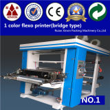 Vitesse normale flexographique de machine d'impression de 2 couleurs et contrôle à grande vitesse de courroie