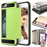 Caja móvil al por mayor de los accesorios del teléfono celular de TPU+PC para el iPhone 6s
