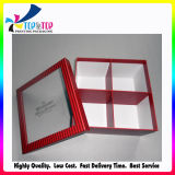 昇進の長方形はアートペーパーの甘い包装のネットボックスをカスタム設計する