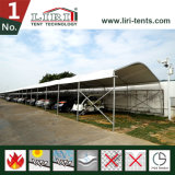北京のIaafの世界選手権のための標準的なテント