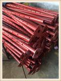 Puntelli dell'armatura usati costruzione rossa di Paiting e puntello telescopico registrabile