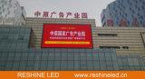 Mantenimiento delantero al aire libre fijo LED, visualización de Reshine P8 de LED para hacer publicidad