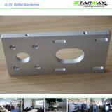 Части CNC изготовленный на заказ высокого качества точности подвергая механической обработке в алюминии