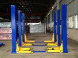 Élévateur hydraulique de véhicule de levage automatique de plaque d'étage de deux postes avec du ce