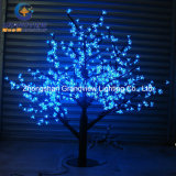 LED Mini Plastic Cherry Blossom Tree