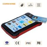 Terminal de captação de dados móvel sem fio áspero PDA do computador portátil com 1d/2D o código de barras GPS GPRS WiFi BT e freqüência ultraelevada RFID