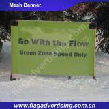 Bandera del acoplamiento de la flexión del poliester de la impresión de la publicidad al aire libre Digital
