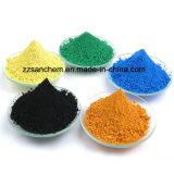 Konkretes Grad-Eisen-Oxid-Grün-Pigment 1332-37-2