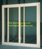 Einfache und mühelose Öffnung und Closing mit einzelne und doppelte Schweber-Serien-schiebendem Glasaluminiumfenster