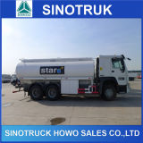 Sinotruk 6X4 20cbm Fuel Tanker Truck met 2 Compartments