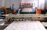 Производственная линия 1220mm штрангя-прессовани листа PVC искусственная мраморный