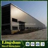 Almacén y taller de la estructura de acero de China