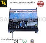 Мощный усилитель звуковой частоты канала Fp10000q 4 профессиональный, система PA Subwoofer, профессиональный мощный усилитель звуковой частоты