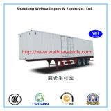 De Semi Aanhangwagen van de bestelwagen/van de Doos met 3 Assen van Fabrikant