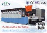 Impressão de alta velocidade automática de Flexo & máquina de entalho & cortando