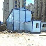 Accampamento modulare dell'operaio di costruzione della struttura d'acciaio