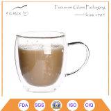Taza de café de los vidrios de consumición de la calidad de Higih