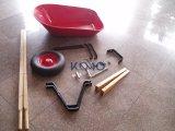 riga della barra di rotella 6cbf con le maniglie di legno