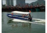De Boot van de Passagier van de Taxi van het Water van de Glasvezel van Aqualand 19feet 6m/Boot Ferryboat/Motor (190)
