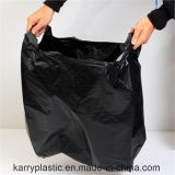Black HDPE Heavy Duty Poubelles