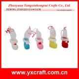 クリスマスの装飾(ZY16Y222-1-2-3-4-5 3CM)のクリスマスの休日はライトボックスのブートを飾る