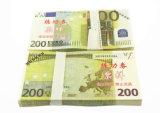 Dinero en circulación euro del dinero de juego como regalo de la Navidad