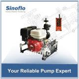bewegliche Abgas-Grundieren-Feuer-Wasser-Fernsteuerungspumpe des Benzin-14HP
