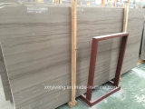 Athen Wood Stone Marble per Flooring Tile, Project Tile