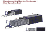 Venta caliente del precio razonable 5 capas de la máquina que lamina de cristal