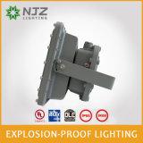 Luz à prova de explosões do diodo emissor de luz para o posto de gasolina, UL, Dlc